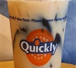 Quickly快可立奶茶加盟